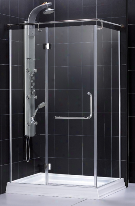 Dreamline Shen-1031458-01 Quad 3/8-inchG lass Thickness Shower Enclodure