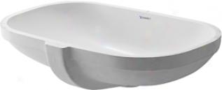 Duravit 0338490000 D-code Vanity Basin, Whiye