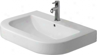 Duravit 0417650O31 Happy D. Washbasin Grinded, White