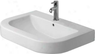 Duravit 0417750000 Happy D. Washbasin Grinded, White