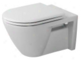 Duravit D16518 Concealed Tank Wall Mount Dressing-table, White