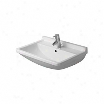 Duravit D19002 Starck 3 Washbasin, Alpin White
