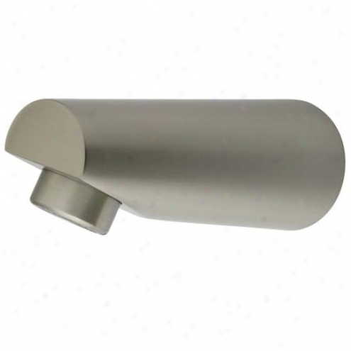 Elemenst Of Design Dk6187a8 Made To Match Spout For Tub & Shower Faucet With O Diverter, Satin Nicke