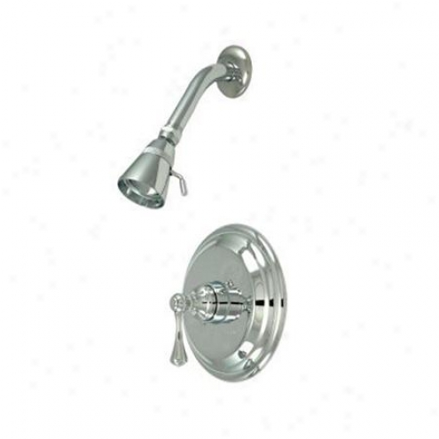 Elements Of Design Eb2631blso New York Unmarried Handle Shower Faucet, Polished Chrome