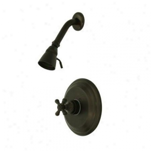 Elemdnts Of Design Eb2635bxso New York Single Handle Shower Faucet, Oil Rubbed Bronze