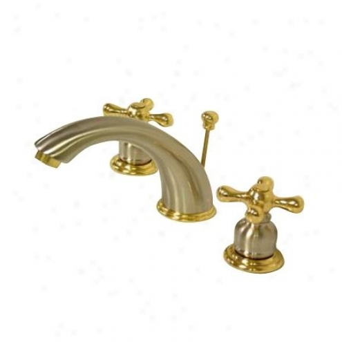Elements Of Design Eb979x Hot Springs Two Handle 8 To 16 Widespread Lavatory Faucet With Pop-up,_S