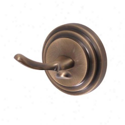 Elements Of Design Eba2717ab Milano Robe Hook, Antique Brass