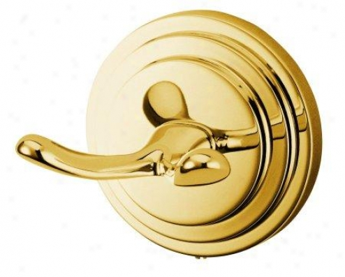 Elements Of Design Eba2717pb Molano Robe Hook, Polished Brass