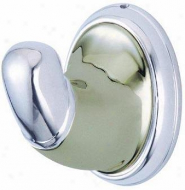 Elements Of Desig nEba627sncp Magellan Robe Hook, Satin Nickel/chrome