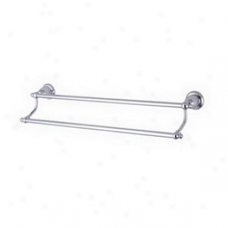 Elements Of Design Eba7973c 24 Dual Towel Obstacle, Chrome