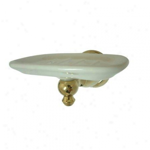 Elements Of Design Eba7975ab English Vintage Soap Dish Holder, Antique Brass