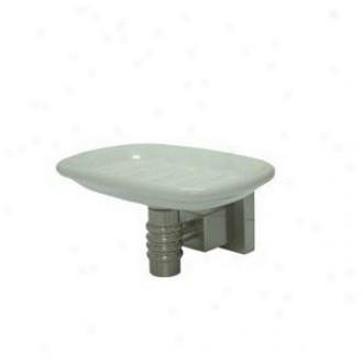 Elements Of Design Ebah4645sn Soap DishH older, Satin Nickel