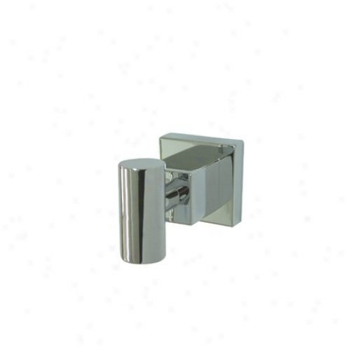 Elements Of Design Ebah8647c Tempa Robe Hook, Chrome