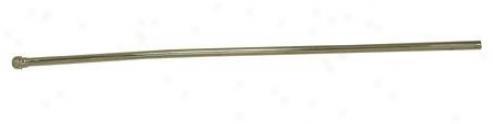 Elements Of Design Ecb38208 3/8 Bullnose Lavatory Supply Tube, Satin Nickel