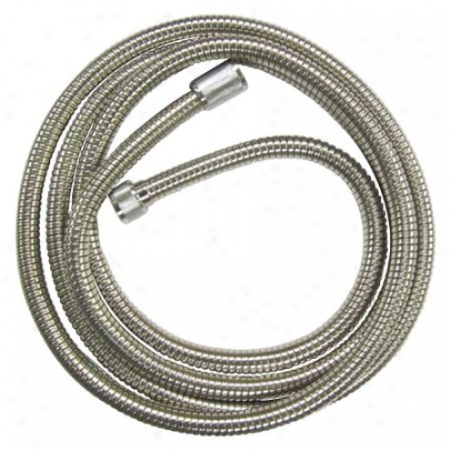 Elements Of Design Edh696cr Essentials 96 Stainlesz Steel Hose, Polished Chrome