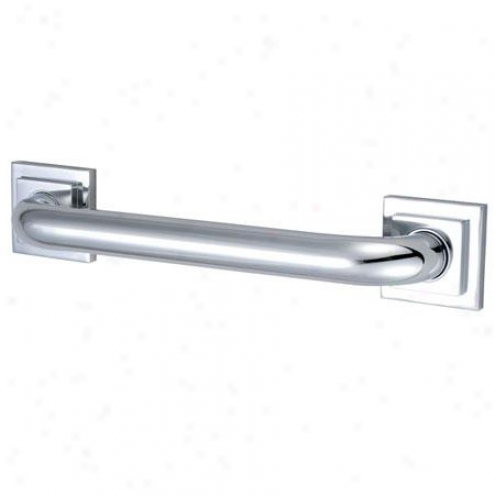Elements Of Design Edr614301 Clarenont 30 Tetragon Decor Grab Bar 1-1/4 Od, Chrome