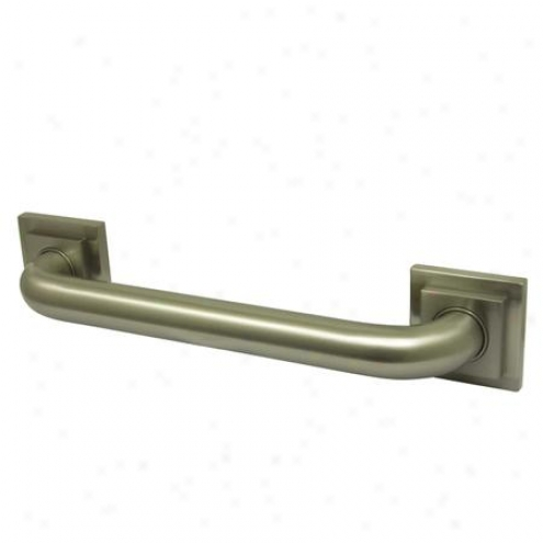 Elements Of Design Ed6r14368 Claremont 36 Tetragon Decor Grab Bar 1-1/4 Od, Satin Nickel