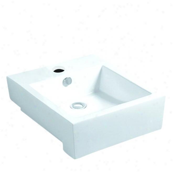 Elements Of Design Edv3076 Citadel Wash Basin, Happy