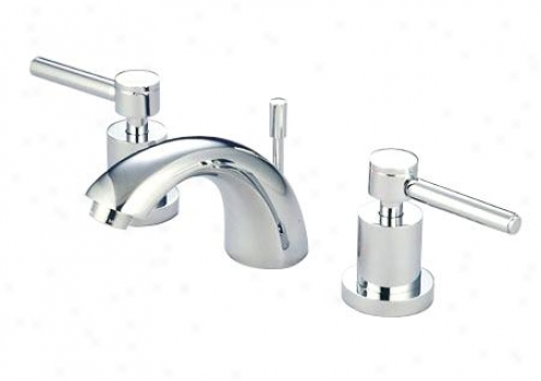 Elements Of Design Es2958dl Mini Widespread Bathroom Faucet, Satin Nickel