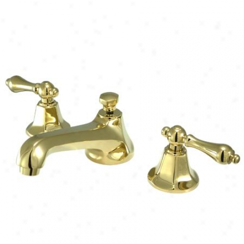 Elements Of Design Es4462al New York Two Hanfle 8 - 16 Widespread Lavatory Faucet With Brazs Pop-u