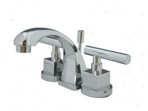 Elements Of Design E4s941cql Claremont Mini Widespread Bathroom Faucet, Chrome
