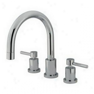 Elements Of Desig Es8321dl Romam Tub Filler, Chrome