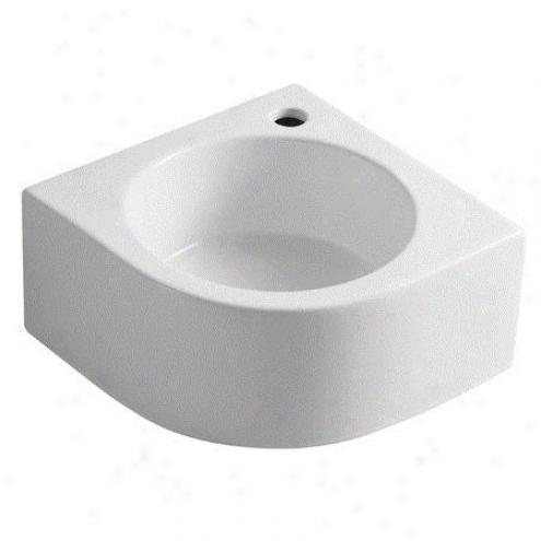 Fauceture Ev1094 Manhattan Vitreous China Vessel Sink, White