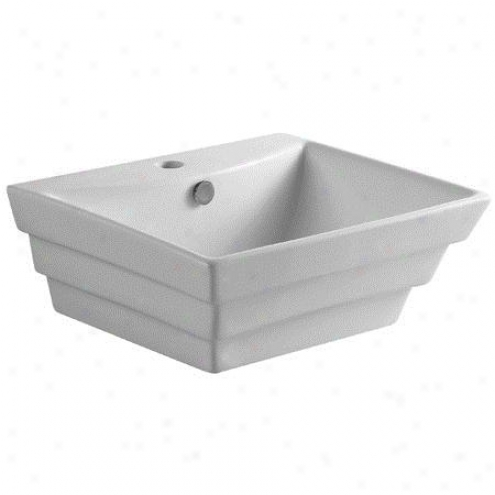 Fauceture Ev4346 Tahoe Vitreous China Sink, White