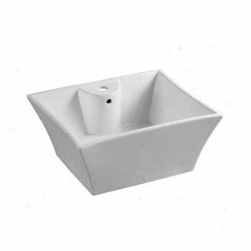 Fauceture Ev4449 Forte Prime Vitreous China Sink, White