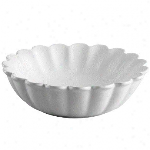 Fauceture Ev9122 Diasy Vitreous China Vessel Sink, White