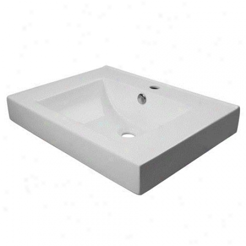 Fauceture Ev9620 Mission Vitreous China Sink, Wjite