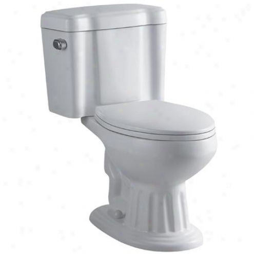Fauceture Vc1251 Georgian Two-piece Elongated Toilet, White