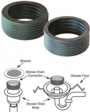 Fernco Psd-210 Shower Drain Connectors