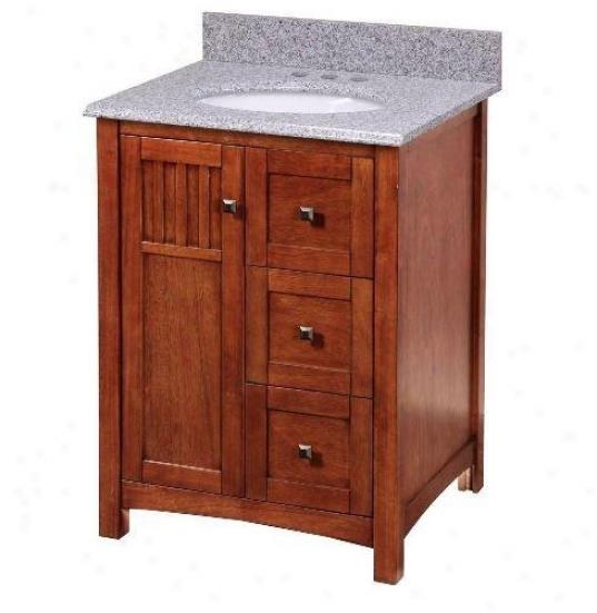 Foremost knca2421d knoxville 24 vanity cabinet only - Preston hardware bathroom vanities ...