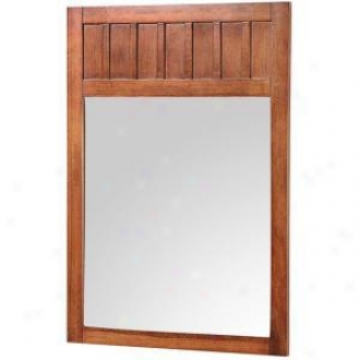 Foremost Kncm2434 Knoxville 34ã¢â'¬? X 24ã¢â'¬? Poplar Framed Vnaity Mirror, Nutmeg