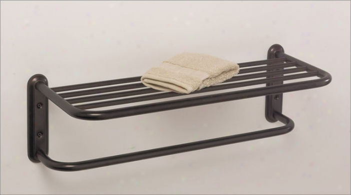Gatco 1538 Two Tier Towel Rack, Bronze