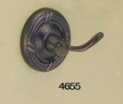 Gatco 4655 Chenille Robe Hook, Burnished Bronze