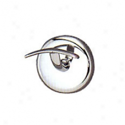 Gatco 5156 Vogue Collection Robe Hook, Chrome