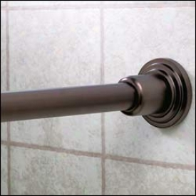Gatco 820 Marina Shower Rod Set, Ool Rubbed Bronze