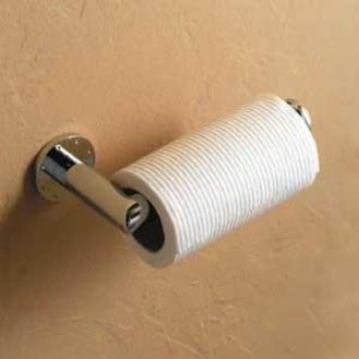 Ginger 36.14.81.15 Kubic Open Toilet Tissue Holder, Satin Nickel