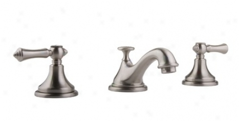 Graff G-1400-s2-bn Chanteaux Lavatory Faucet, Brushed Nickel