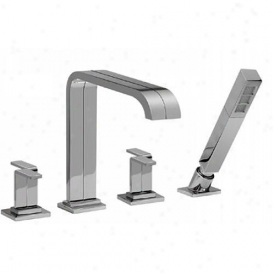 Graff G-2351-c9-pc Immersion Two Handle Roman Tub Faucet With Handshower Polished Chrome