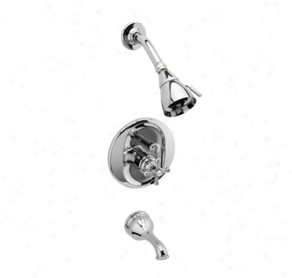 Graff G-7150-c2s-pc Atlantis Transitional Pressure Balancing T8b & Showsr Set, Chrome