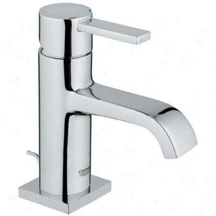Grohe 23 077 000 Allure Single oHle Faucet, Starlight Chrome