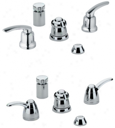 Grohe 24 667 000 Talia Wideset Bidet, Chrome