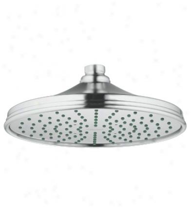 Grohe 28 375 Rr0 Rainshower Retro Shower Head, Velour Chrome