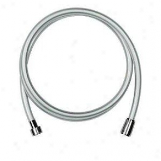 Grohe 28 388 000 Silverflex 69 Heavy Duty Shower Hose, Starlight Chrome