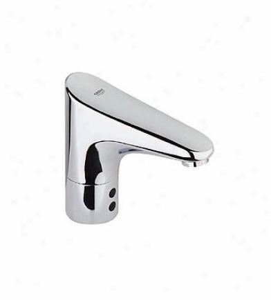 Grohe 36 212 000 Europlus E Touch Free Centerset Lavatory, Chrome