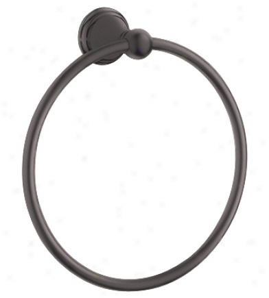 Grohe 40 151 Zb0 Geneva Towel Ring, Oil Rubbed Bronze