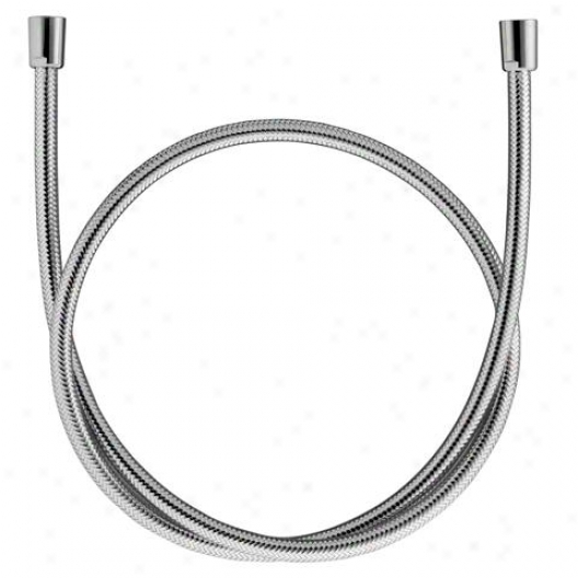 Hansa 0412 0500 0017 Shower Hose, Synthetic, 63 Length (1600 Mm), Chrome